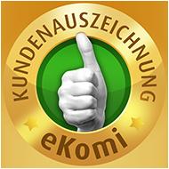Besuchen Sie unsere Kundenbewertung von eKomi