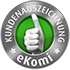 Externer Link zur Bewertung der Volksbank Bigge-Lenne eG bei Ekomi